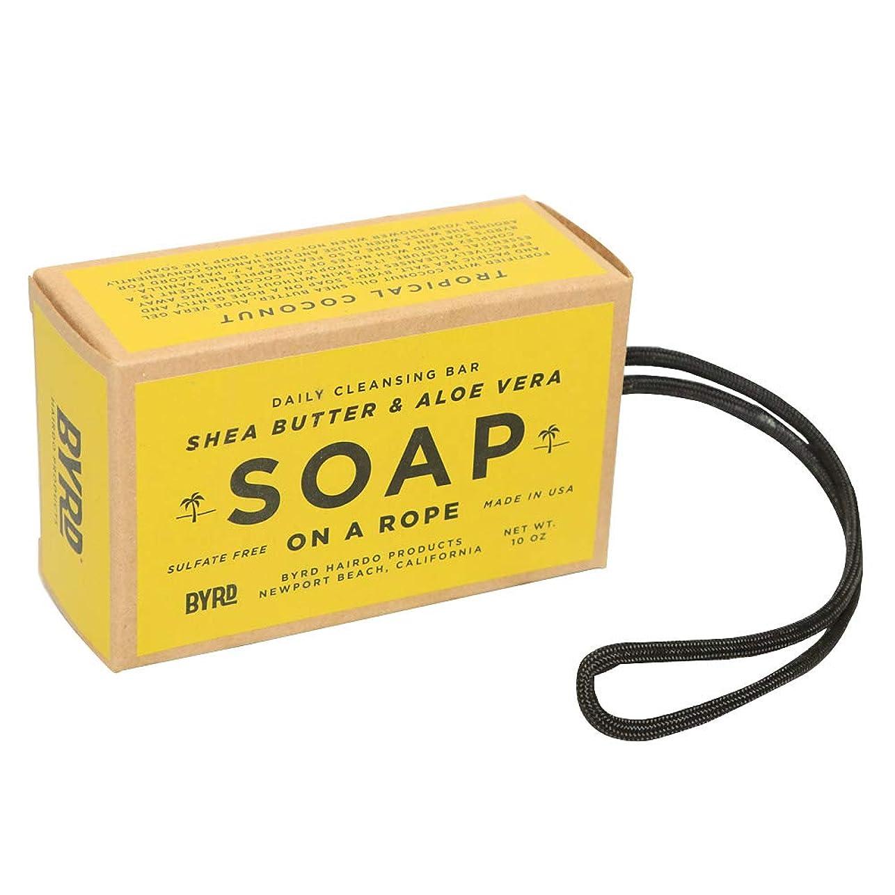 雑多なグリップただやるBYRD バード SOAP ON A ROPE ソープオンアロープ 石けん #2096989