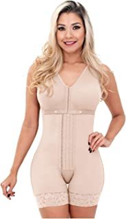 Sonryse Women's Fajas Colombianas Postparto Levanta Pompis Bra Shapewear Waist Slimming Girdles XX-Large Beige