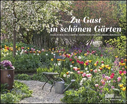 Zu Gast in schönen Gärten 2022 – DUMONT Garten-Kalender – Querformat 52 x 42,5 cm – Spiralbindung