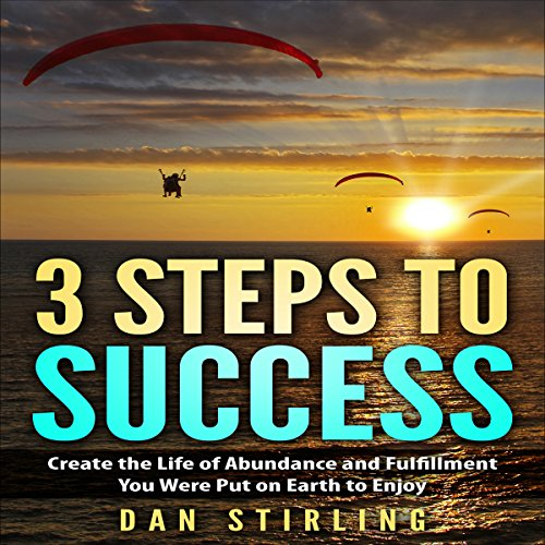 3 Steps to Success audiobook cover art