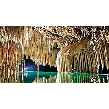 Full-Day Rio Secreto Small Group Experience in Mexico for One - Tinggly Voucher / Gift Card in a Gift Box