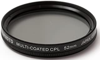 Agfa dijital Multiverguetetes dairesel polarize filtre (CPL) filtre 52 mm Siyah APCPF52