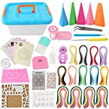 BAIYUN Quilling Kit Complete Quilling Paper Set with 1940 Strips All Necessary Tools and Storage Box Suitcase...