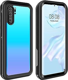 ODLICNO Funda Impermeable para Huawei P30Pro, Certificación IP68, Protección Completa de 360 Grados, Carcasa a Prueba de C...