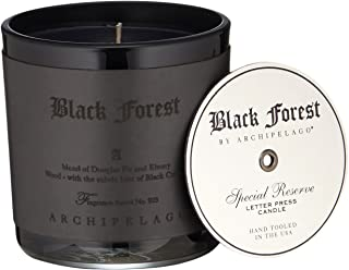 Archipelago Botanicals Black Forest Letter Press Candle
