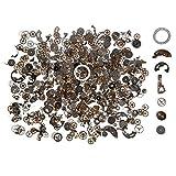 XCSOURCE 70gミックス真鍮時計パーツスチームパンクギアホイールCyberpunkヴィンテージCogs DIYデコジュエリーアートクラフトcr013