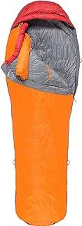 Marmot Never Summer Sleeping Bag, Long, Tangelo/Auburn, Long 6ft 6in, 29930-9911-Long: 6'6