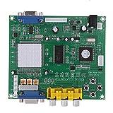Viudecce GBS8200 1 Canal Rele Modulo Junta CGA/EGA/YUV/RGB a VGA Juego de Arcade Video Converter para CRT Monitor LCD Monitor PDP Monitor