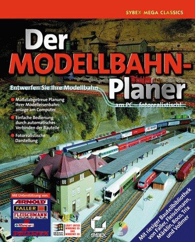 Der Modellbahn-Planer, Entwerfen Sie Ihre Modellbahn am PC, fotorealistisch, 1 CD-ROM in JewelcaseFür Windows 95/98. Maßstabgetreue Planung Ihrer Modelleisenbahnanlage am Computer. Einfache Bedienung durch automat. Verbinden d. Bauteile
