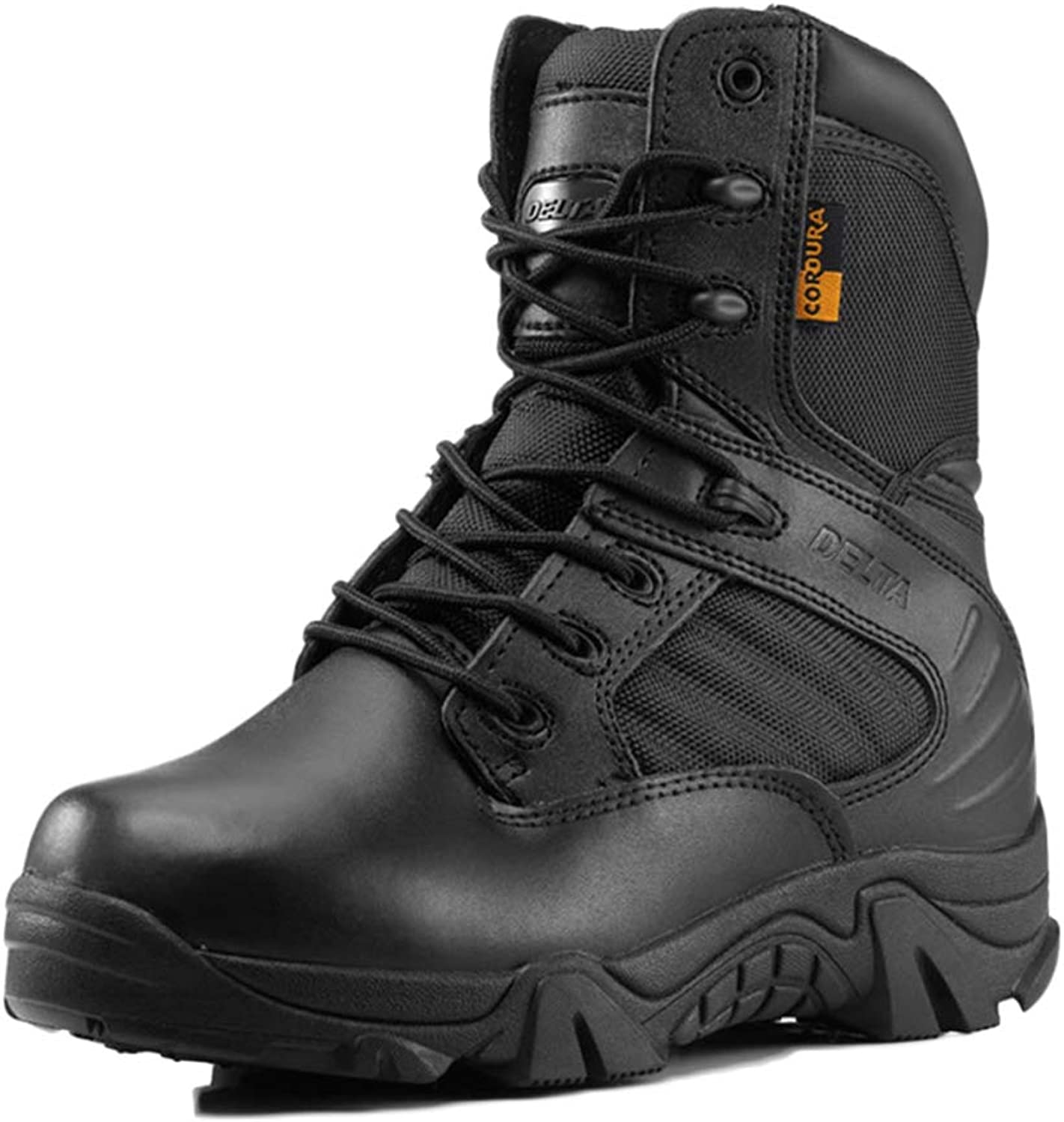 Men Boots Tactical Boots Desert Breathable Work Boots Lightweight High-top Lace-up shoes Non-Slip Ankle Warm Snow Boots