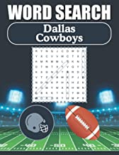 Dallas Cowboys Word Search: Word Find Puzzle Book For All Cowboys Fans
