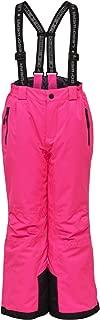 Lego Wear Kids & Baby Ski Pants with Adjustable Suspenders, Dark Pink, 7 Years