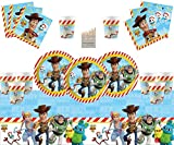 Toy Story 4 Party Supplies 54 Piezas de cumpleaños vajilla Toy Story Party Decoration Pack para 16