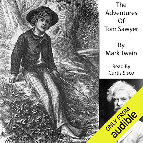 The Adventures of Tom Sawyer                   By:                                                                                                                                 Mark Twain                               Narrated by:                                                                                                                                 Curtis Sisco                      Length: 6 hrs and 20 mins     4 ratings     Overall 4.0