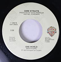 Dire Straits 45 RPM Walk of Life / One World