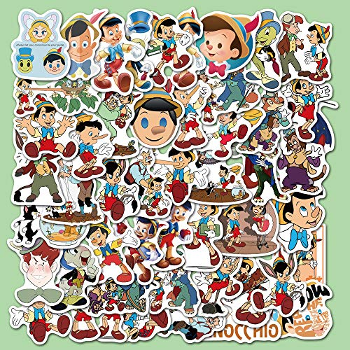 YZFCL Movie Puppet Adventure Fun Decorative Suitcase Laptop Waterproof Doodle Stickers 50pcs