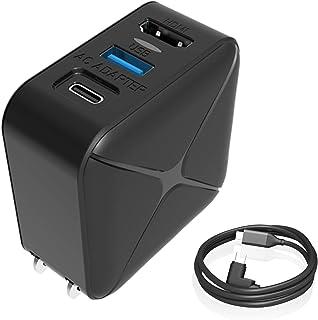 Switch用 ACアダプター Chayoo 多機能 3in1 HDMI Type-c充電器 USB3.0 PD 30W急速充電 変換アダプター PSE認証済 スイッチ ドック代用品 TVモード対応 テレビ出力、スマホ、ノートパソコンなど対応 ...