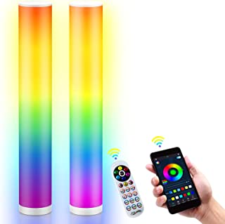 """Floor Lamp, EpochAir 40.9"""" Tall Lamp, Standing Dimmable RGB Color Changing LED Lamp with Smart App and Remote Control, Sta..."""