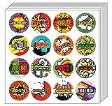 Espagnol Comic Autocollants Praise (5 feuilles) - Unique assortis Sticker Set - Cadeaux luxe hommes, femmes, ados, enfants - Idées de récompense Incentive