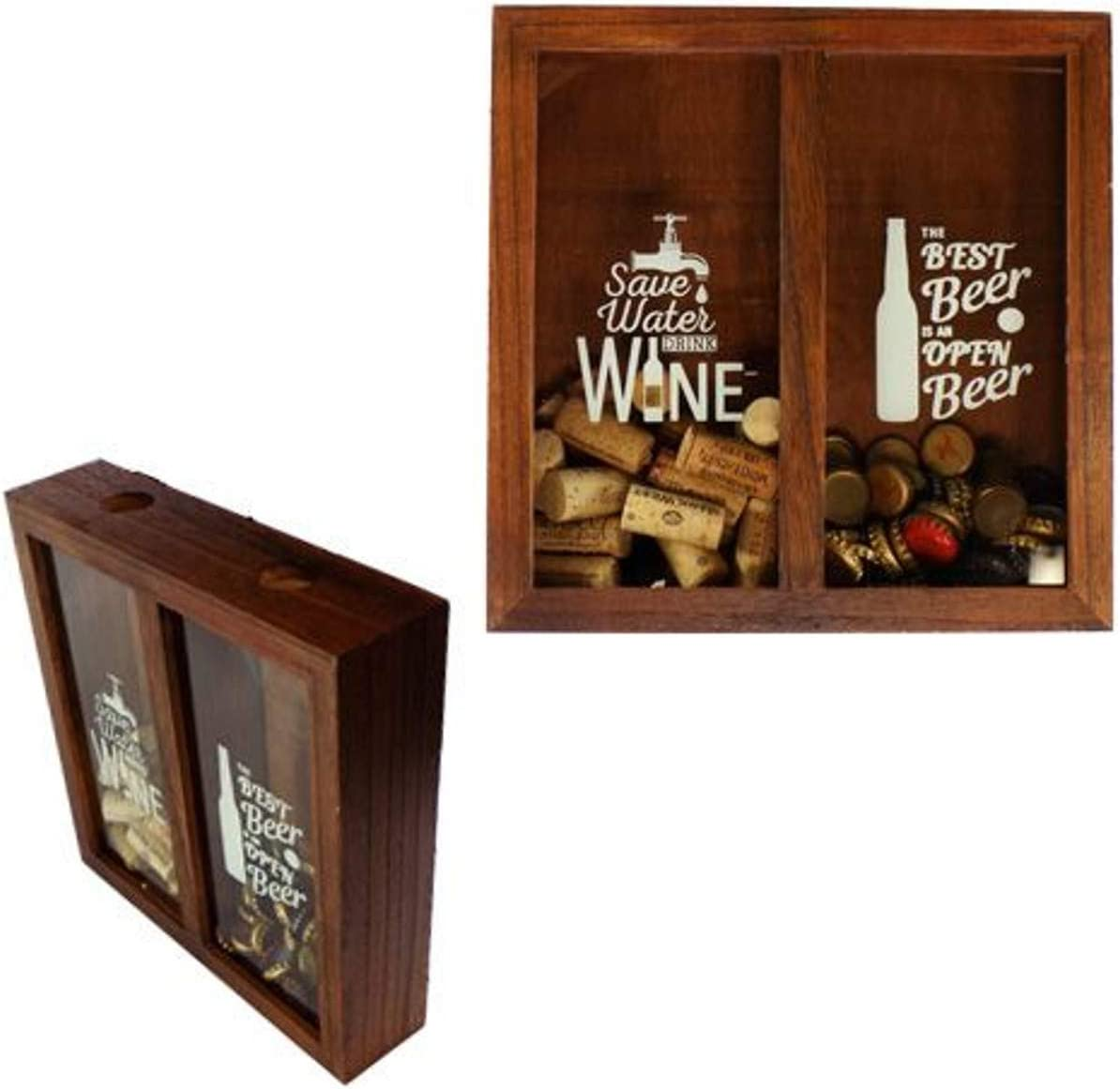 Barry Owens BV723 Wood Wine Cork and Holder Cap 11 最新 Inch Box Beer トラスト