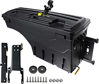 A-Premium Storage Box Case Truck Bed for Ford F-150 2015-2019 Rear Right Passenger Side