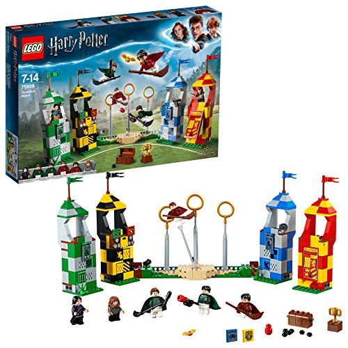 LEGO Harry Potter - Le match de Quidditch - 75956 - Jeu de...
