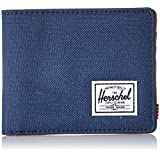 Herschel Supply Co Men's Hank Bi-Fold Fabric Wallet - Navy/Tan