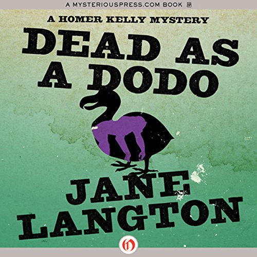 Dead as a Dodo audiobook cover art