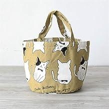 Fashion and High Quality Insulation Round Cartoon Storage Bag Lunch Box Bag