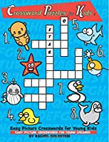 Crossword Puzzles for Kids: Easy Picture Crosswords for Young Kids