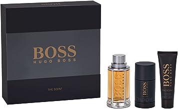 Hugo Boss The Scent Coffret - Eau de Toilette 100ml, Gel de ducha 50ml, Desodorante en barra 75ml