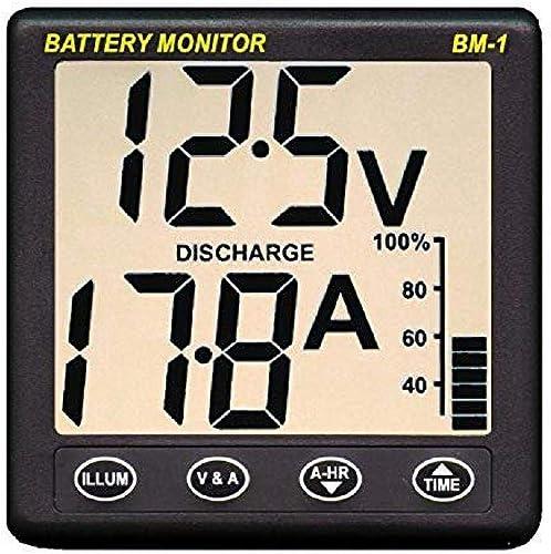 Nasa BM1 24VDC - Indicador de Carga de batería, Color Gris Oscuro [Importado de Reino Unido]