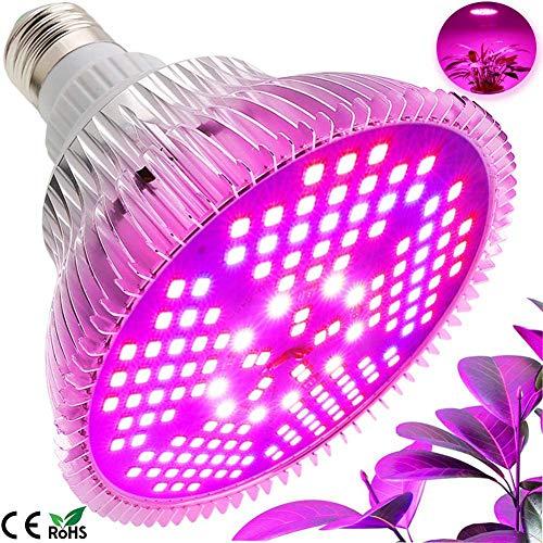 JZH plantenlamp LED 100W plantenlicht Grow lamp E27 Grow Lamp Full spectrum zonvergelijkbaar plantenlampen Groeilamp voor planten tuin kas kamerplanten