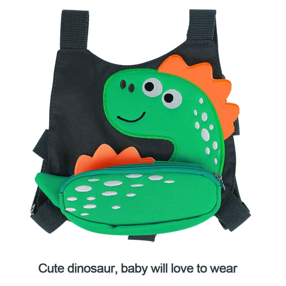 Toddler Harness Leash for Walking Dinosaur Anti-Lost Leash for Kids Age 1-3 Years