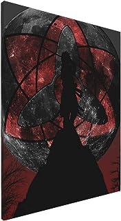火影忍者海报性感凹版装饰画艺术框架流行室内现代时尚卧室装饰墙面装饰画新建筑礼品40x50cm(无框)