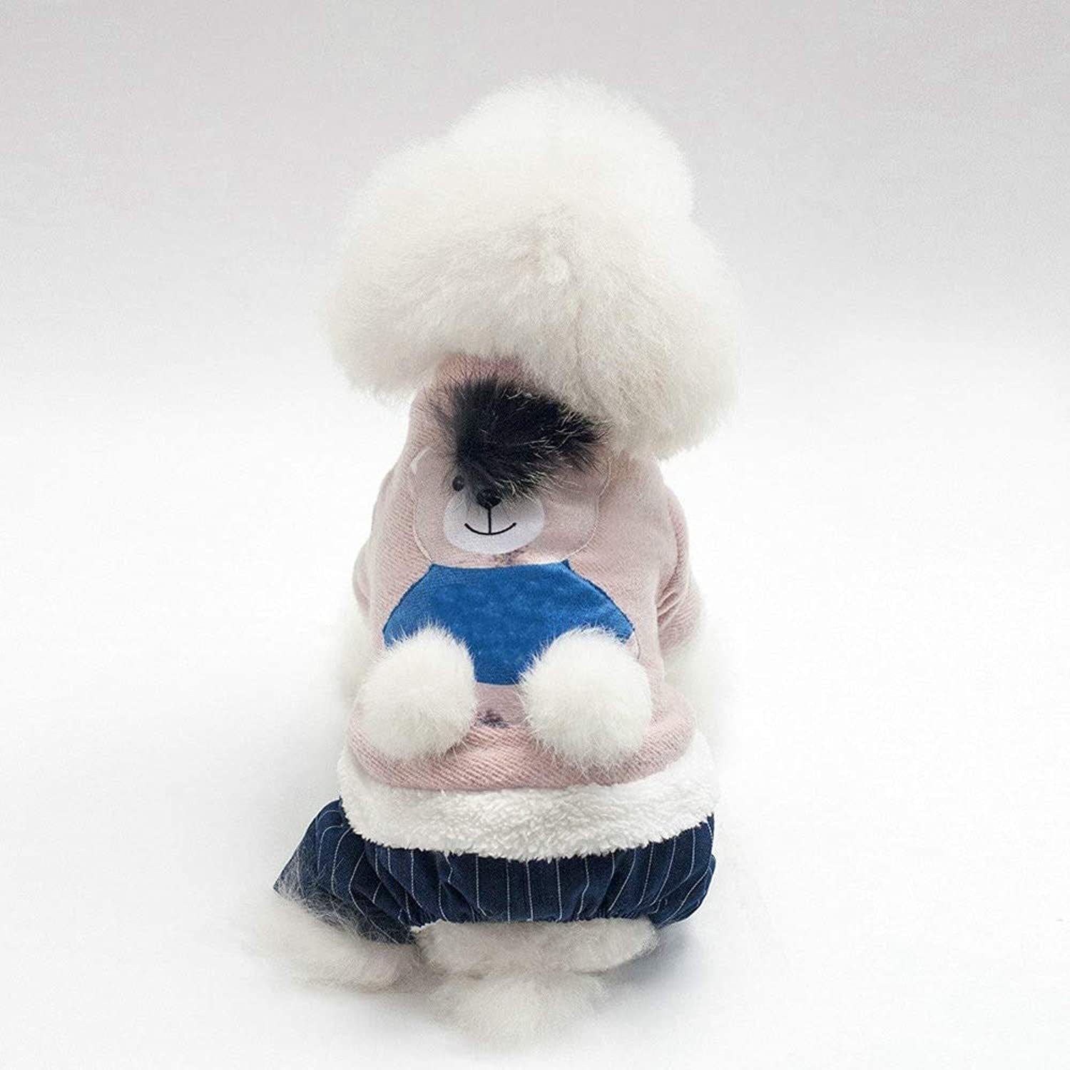 Dogs Clothes Dog Costume FourLegged Pet Costumes Dog Jumperspet Clothes Sports Warm Cotton Coat Dog Clothing Autumn and Winter