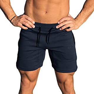 Force Knit Shorts Midnight Blue Training Sports Fitness Active Wear Bodybuilding