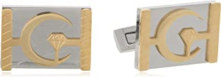 Diamond Moon Stainless Steel Cufflinks for Men, Stainless Steel - 1800541240461