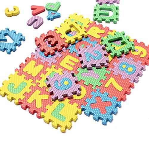 Alfombras Infantiles Puzzle Letras Y Números alfombras infantiles  Marca BlendX