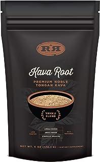 Kava Root Powder - Tongan Noble Premium Natural Kava Drink, Calming Stress Relief, 6oz