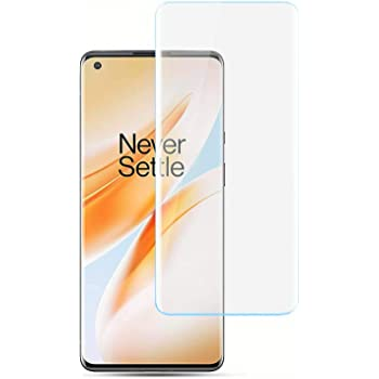 Aeidess Tempered Glass for OnePlus 8 Pro (UV) Full Screen Coverage [Edge to Edge] with Easy Installation Kit