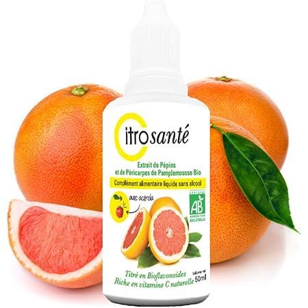 Citrosanté Extracto de Semillas de Pomelo orgánico 50 ml