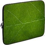Sidorenko Laptop Tasche für 15-15,6 Zoll | Universal Notebooktasche Schutzhülle | Laptoptasche aus Neopren, PC Computer Hülle Sleeve Hülle Etui, Grün