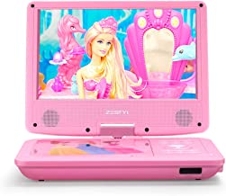 "ZESTYI 11"" Portable DVD Player for Kids with 9"" Swivel Screen, Car Headrest.."