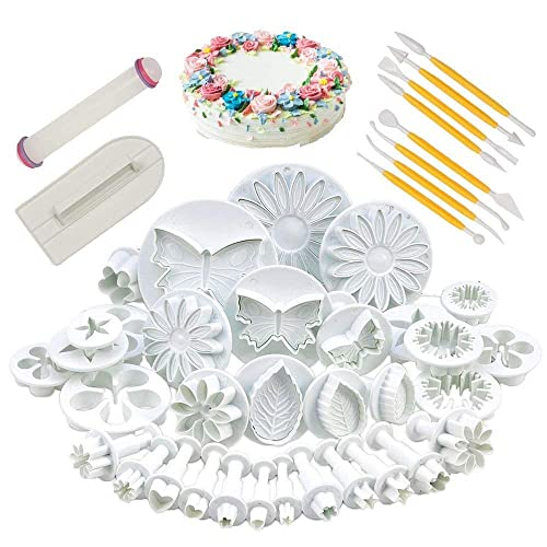 Flower Icing Cutters Amazon Co Uk