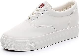 Renben Girls Women Low Wedge Heel Canvas Sneakers Comfort Platform Espadrilles
