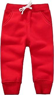Unisex Kids Cotton Pants Winter Trousers Baby Bottoms Sweatpants 1-5 Years
