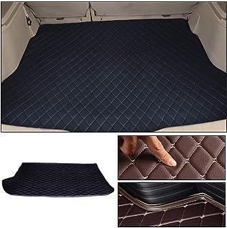 Custom Trunk Mat Floor Mat for KIA cerato 2007~2016 Floor Coverage All Weather Trunk Protection Waterproof Cargo Mat Non-Slip Leather Liner Set Black
