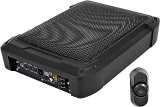 $125 » Seismic Audio - SkinnyThump - Powered 10 Inch 600 Watt Under Seat Slim Mount Car & Truck Audio Subwoofer Enclosure