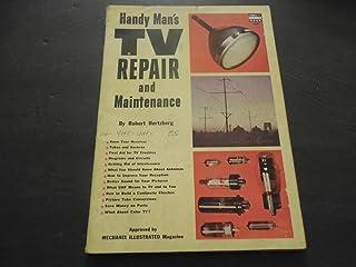 Handy Man's TV Repair and Maintenance Fawcett Book 1952 Print